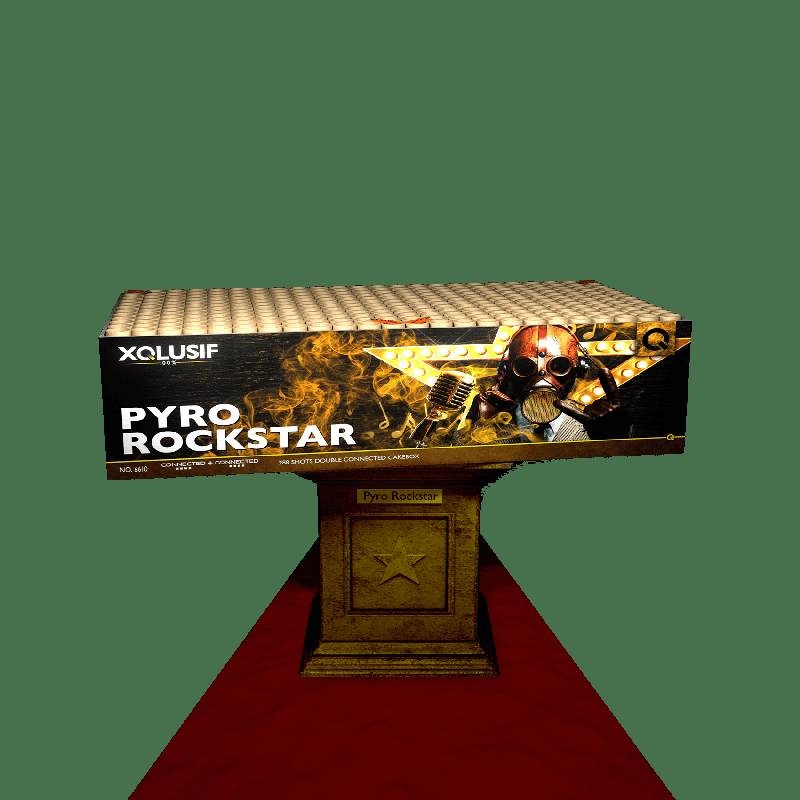 VOLT ! Pyro Rockstar!
