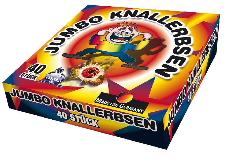 Lesli Jumbo Knallerbsen 40er Box
