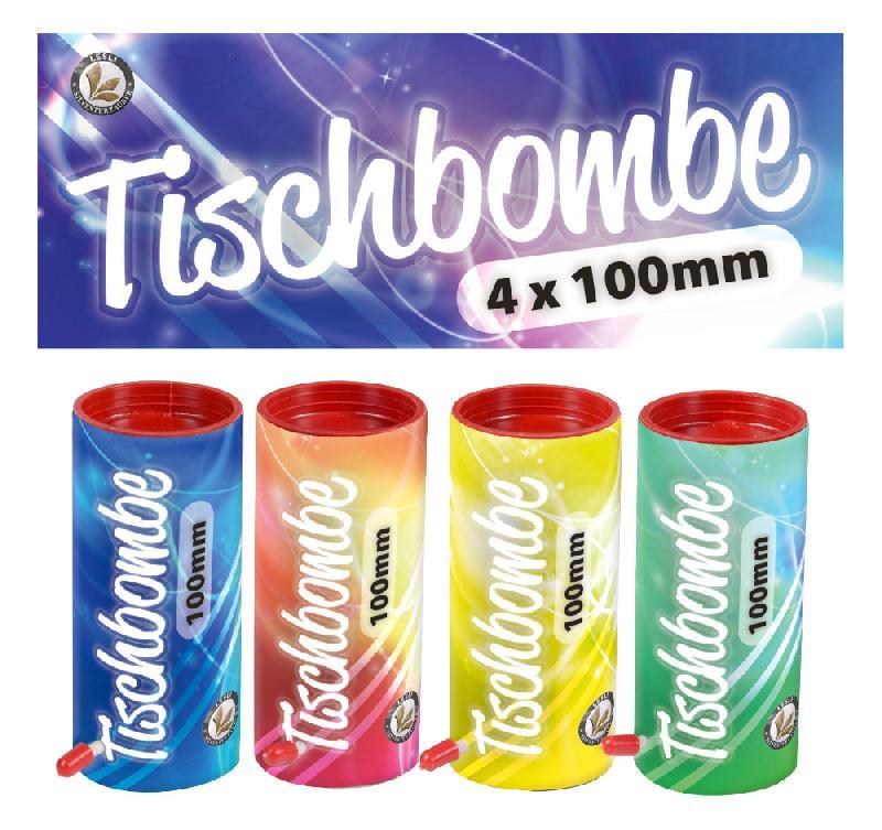 Lesli Tischbombe 4er