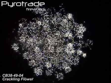 Pyrotrade Crackling Flower