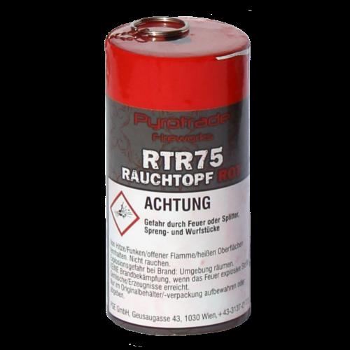 Pyrotrade Rauchgranate ROT Reißzünder