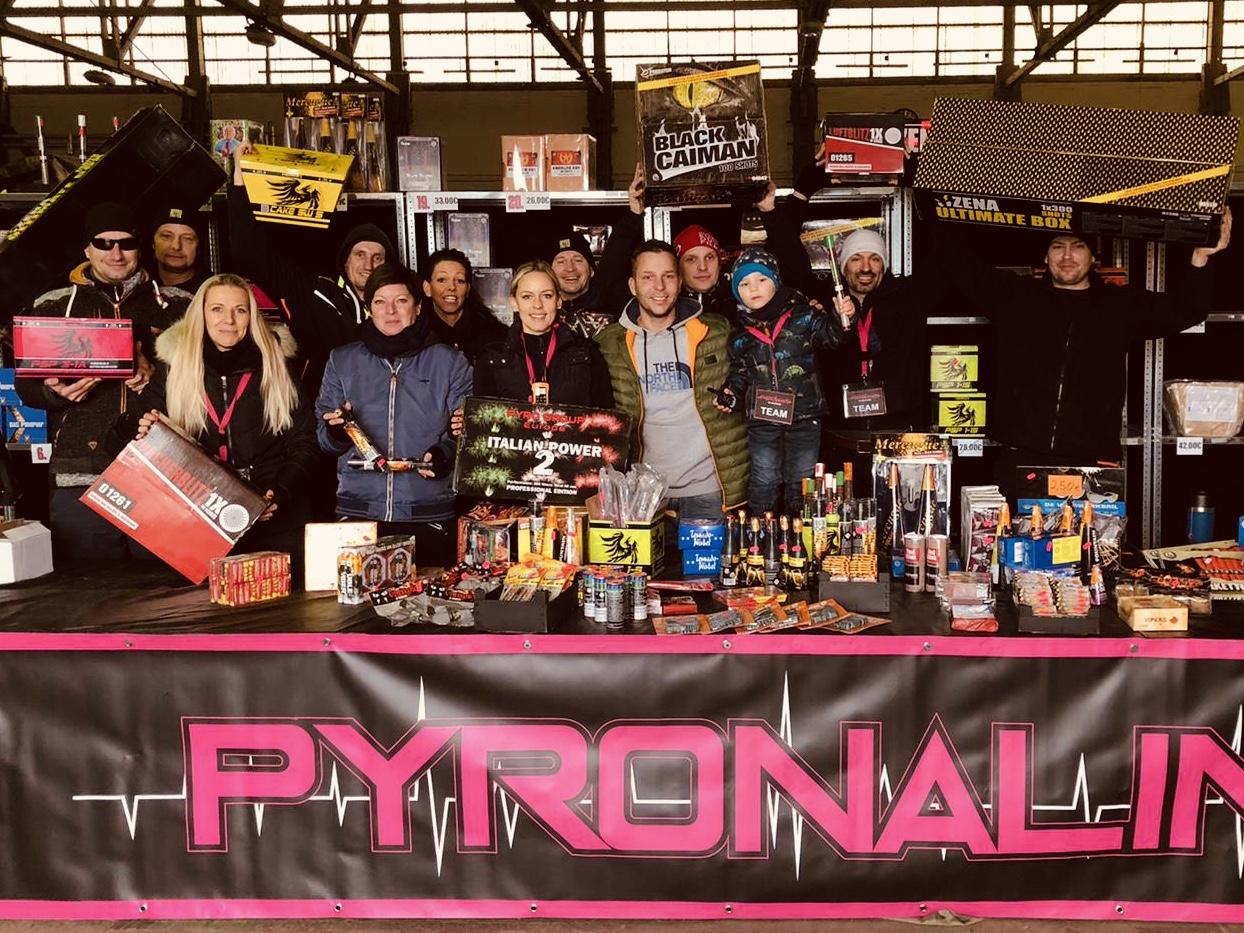 Wir sind Pyronalin!